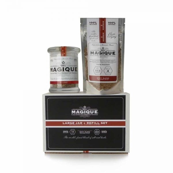 Sel magique - Large Jar and Refill - Spicy Salt Blend