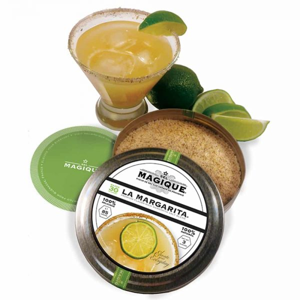 margarita cocktail w tin