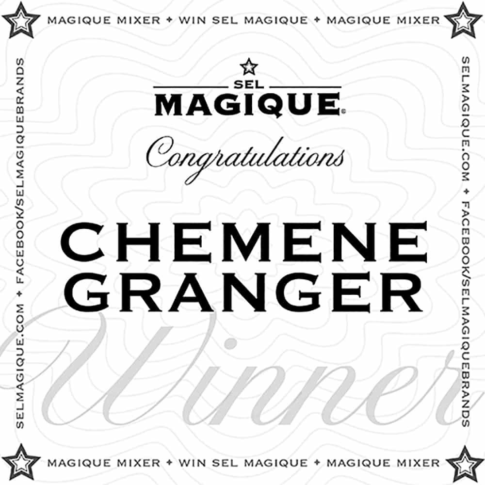 Magique Mixer Winner Chemene Granger