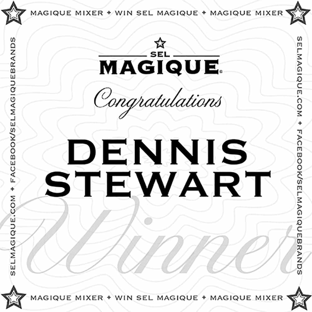 Magique Mixer Winner Dennis Stewart