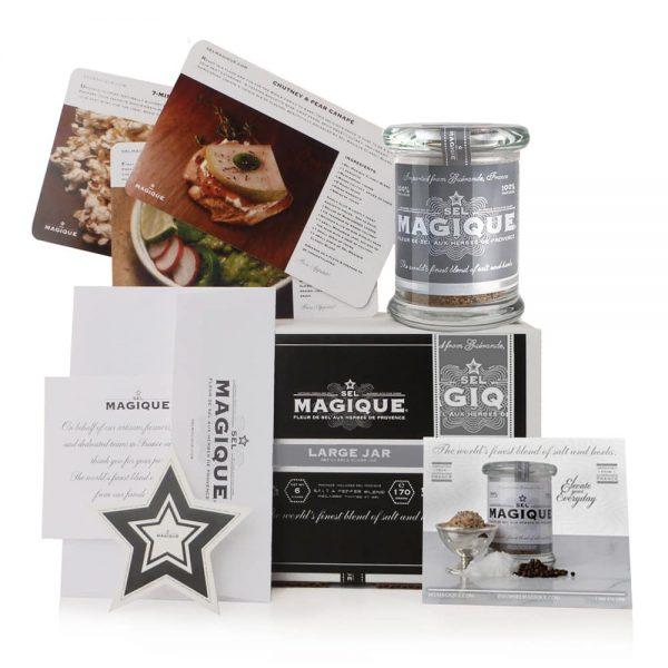 Sel Magique - Salt & Pepper Blend - Large Jar